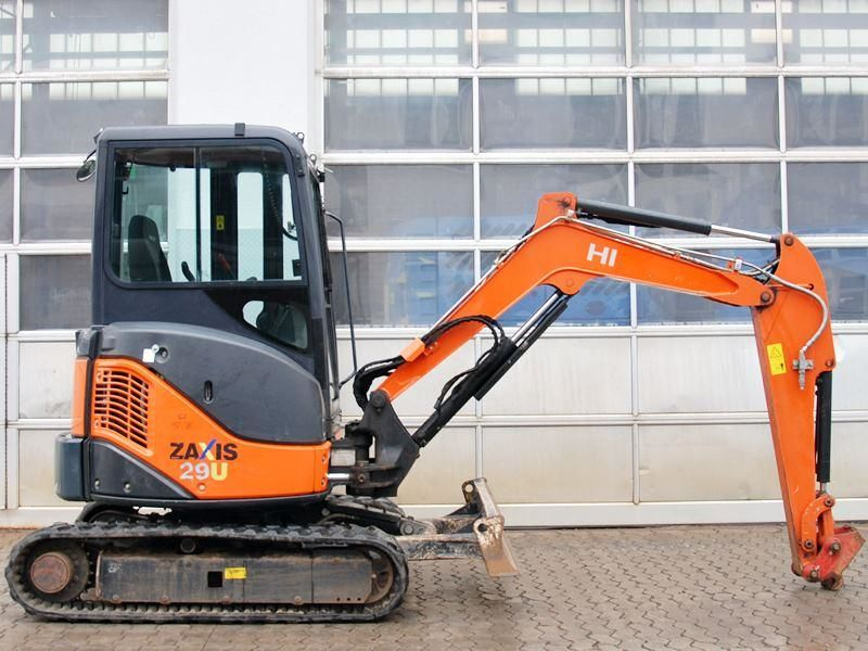 mini pelle hitachi zx 29