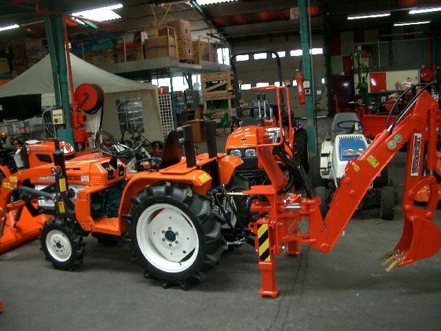 mini pelle micro tracteur