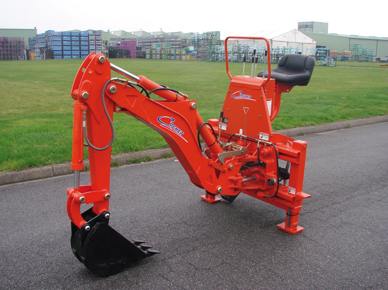 mini pelle tracteur