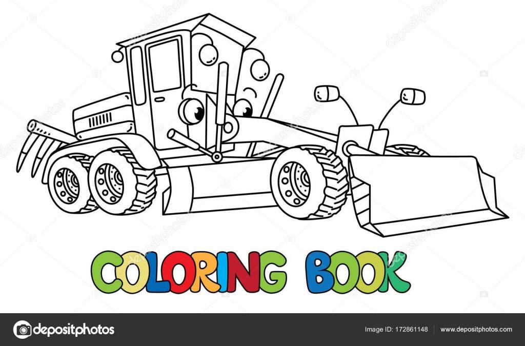 niveleuse a colorier