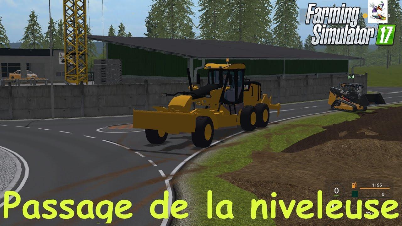 niveleuse farming simulator 2017