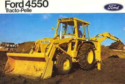 tractopelle 4550
