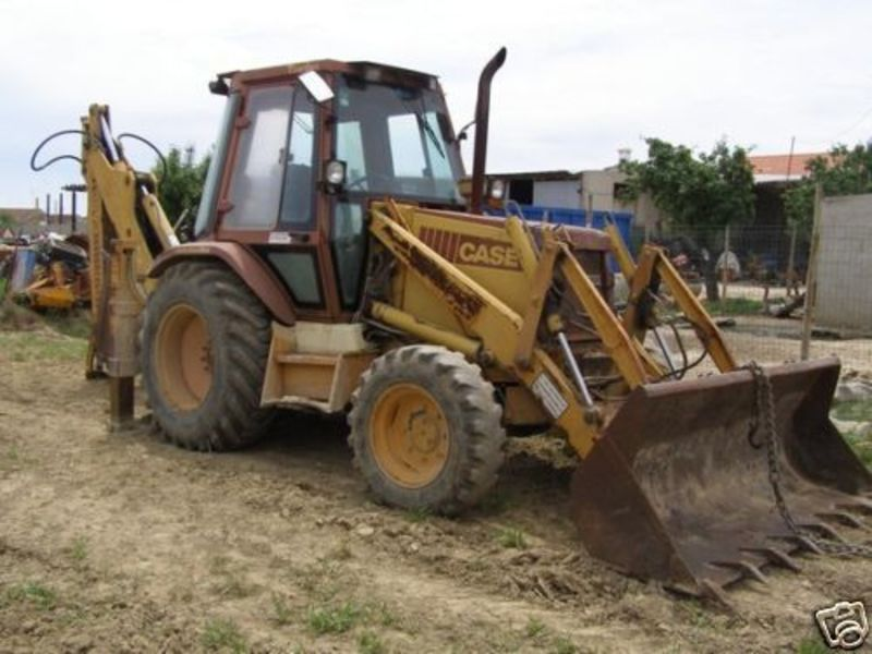tractopelle 580 sk