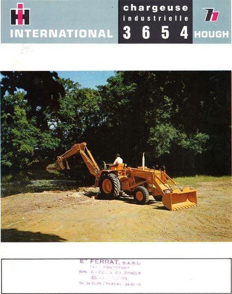 tractopelle international 3654