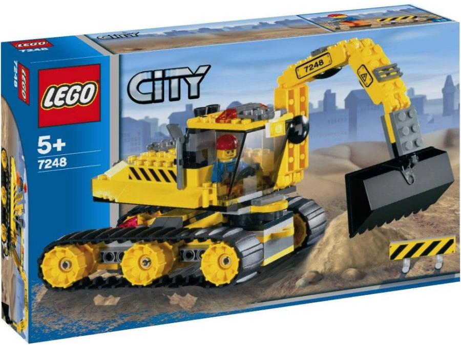 tractopelle lego city