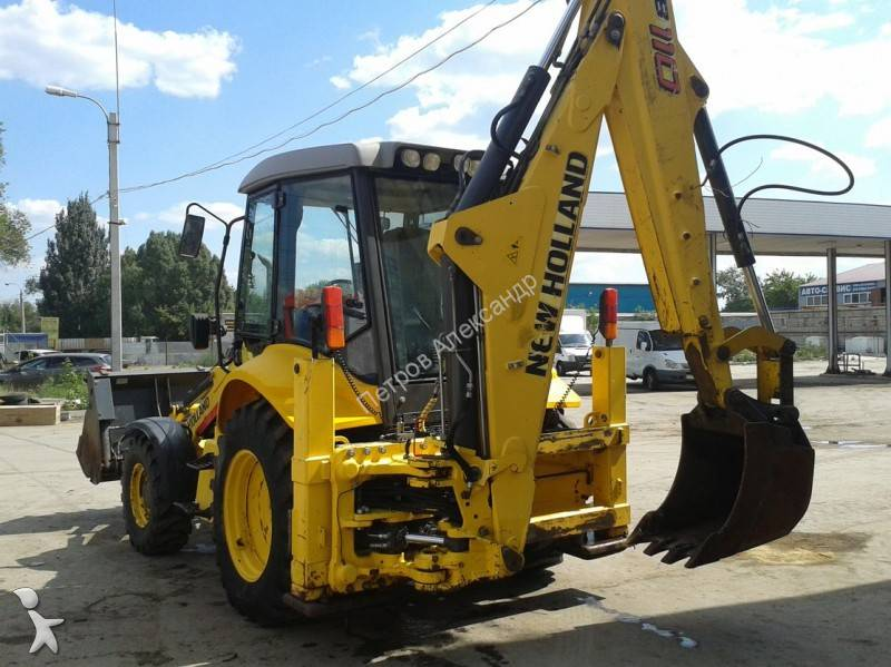 tractopelle new holland b110