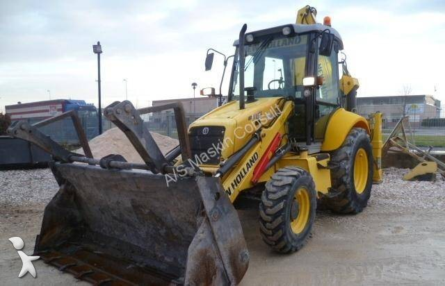 tractopelle new holland lb 110 occasion