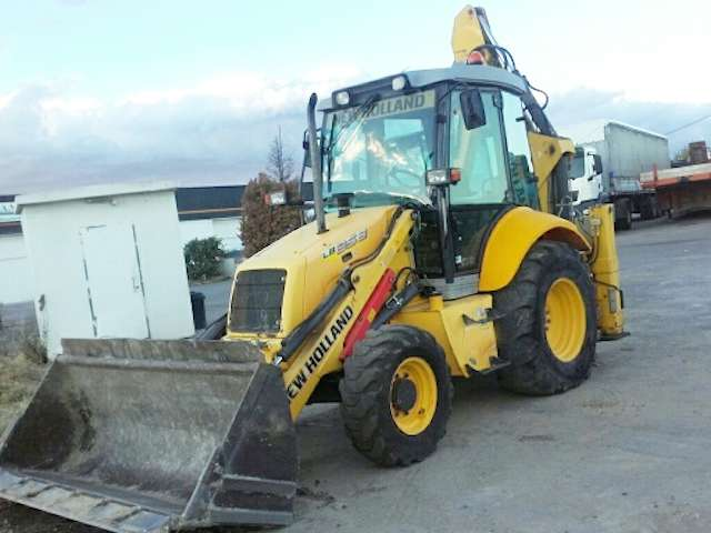 tractopelle new holland lb 95
