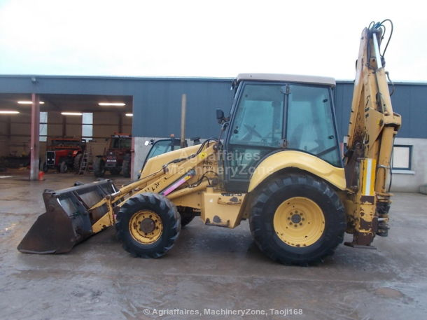 tractopelle new holland nh 95
