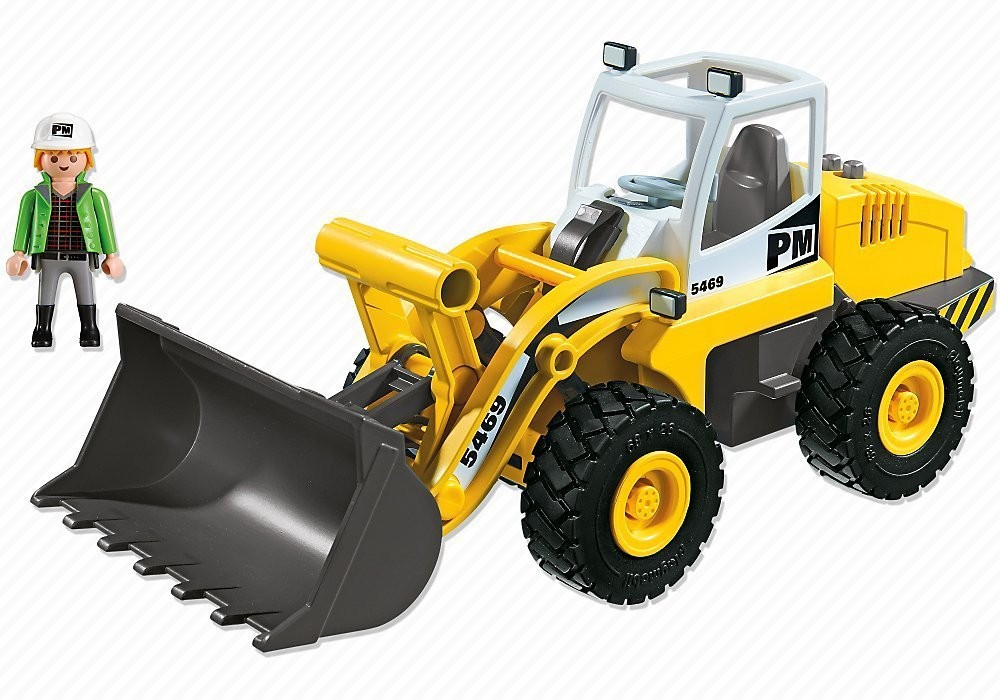 tractopelle playmobil 5469